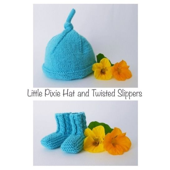Little pixie hat and twisted slippers at Makerist - Image 1