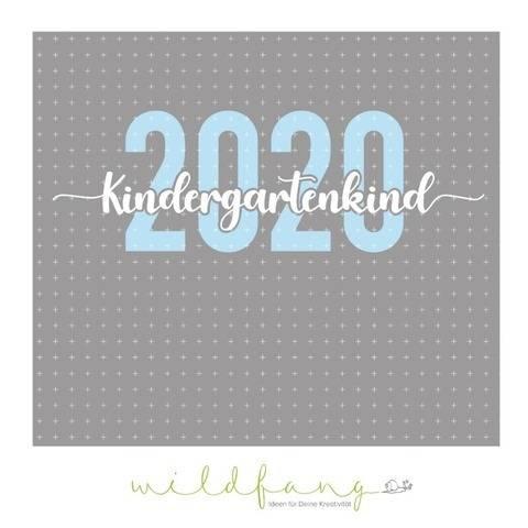 Plotterdatei - Kindergartenkind 2020