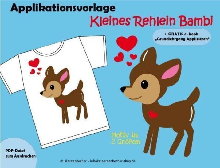Bambi - Applikationsvorlage bei Makerist - Bild 1