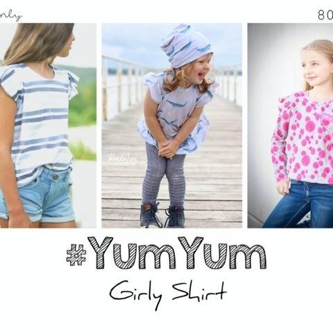 #YumYum Girly Shirt 80 - 170