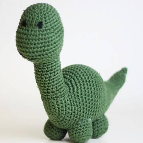 "Crochet Pattern - Amigurumi Dinosaur ""Timi"""