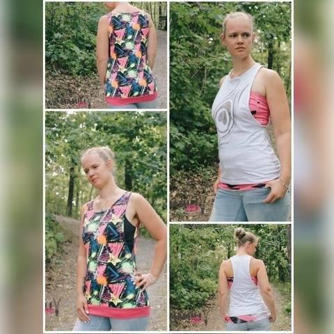 E-Book Tanktops Ella&Elli + Bandeau-Shirt Gr. 32-50