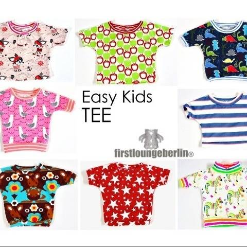 Easy Kids Tee Unisex Kinder Shirt Top Sommertop Sommershirt