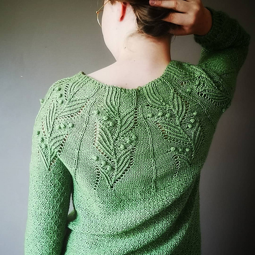 Bloom Time Sweater