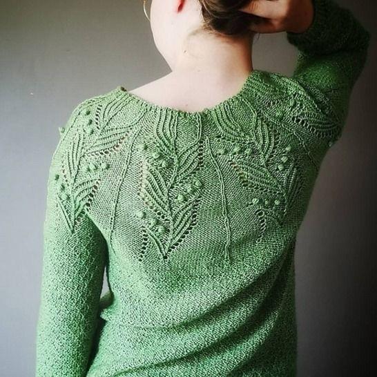 Bloom Time Sweater * English version bei Makerist - Bild 1