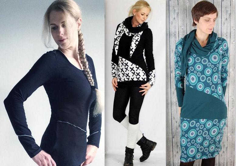 Ebook Tuchshirt Shirt Pullover LEVIA Gr. XS-XXL bei Makerist - Bild 1