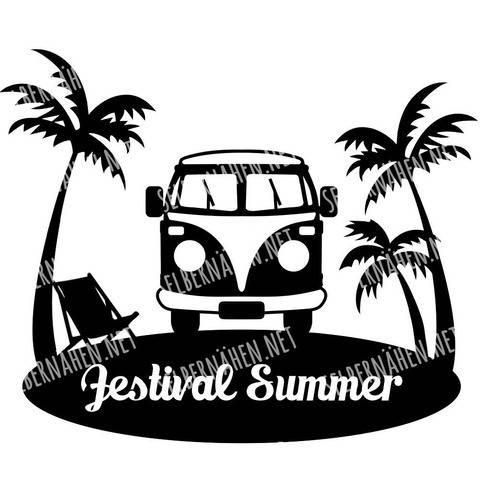 "Plottergrafik ""Festival Summer"""