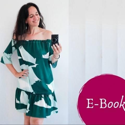 Tessa Schnittmuster Damen Kleid 34-54