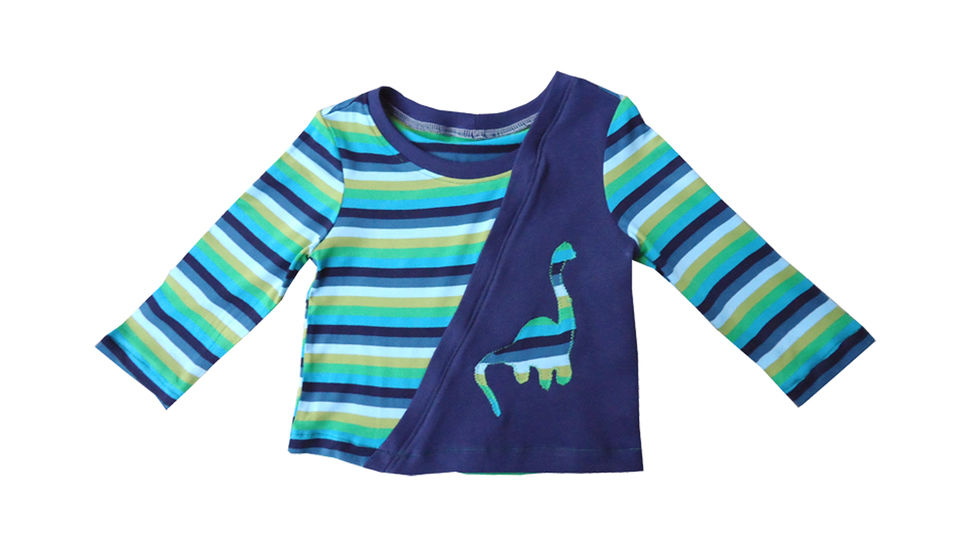 Nähanleitung und Schnittmuster little Elias Shirt für Jungs bei Makerist - Bild 1