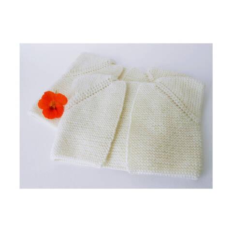 Child sleeveless cardigan / Seamless pattern