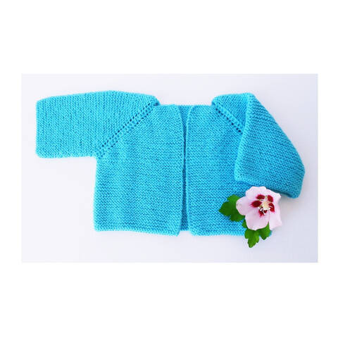 Turquoise vest / Seamless pattern