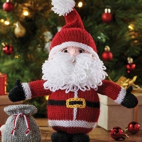 Cuddly Santa Toy