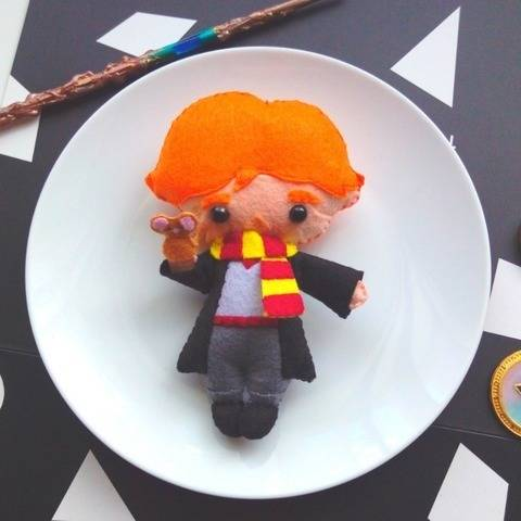 Ron Weasley Doll Pattern at Makerist