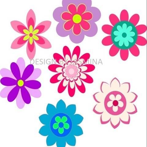 Plotterdatei  SVG  Blumen