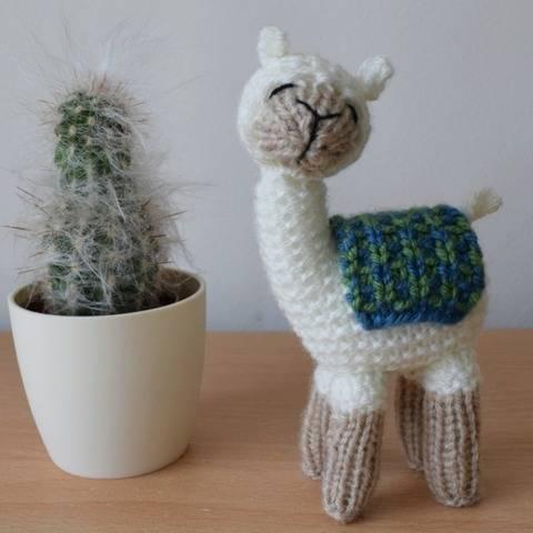 Andy the Llama at Makerist