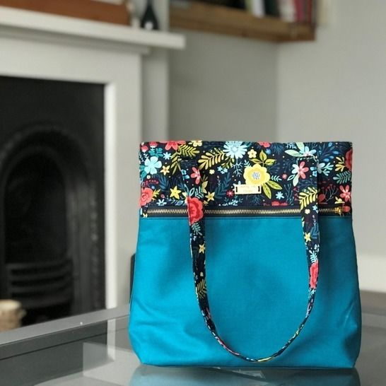 Tote Bag Sewing Pattern PDF at Makerist - Image 1