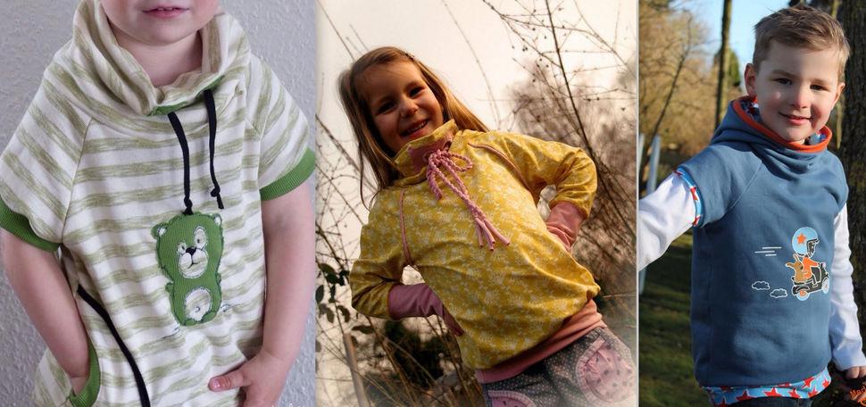 ebook Raglan Hoodie Pullover mini ALEX Gr. 86/92-146/152 bei Makerist - Bild 1