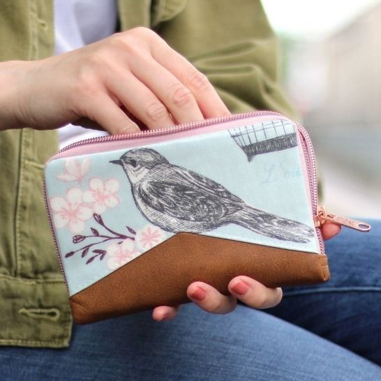 Wallet Little Mynta – pattern and sewing instructions at Makerist - Image 1