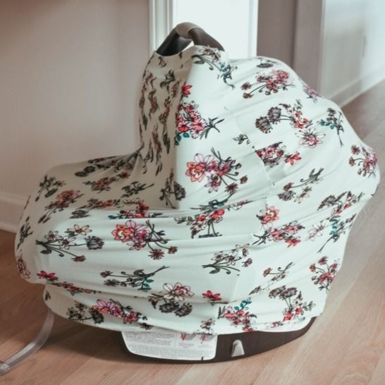 Car Seat Cover PDF Sewing Pattern- Multi-use Baby Product at Makerist - Image 1