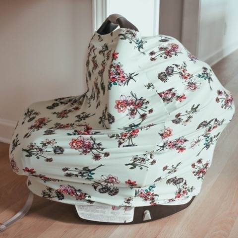 Car Seat Cover PDF Sewing Pattern- Multi-use Baby Product