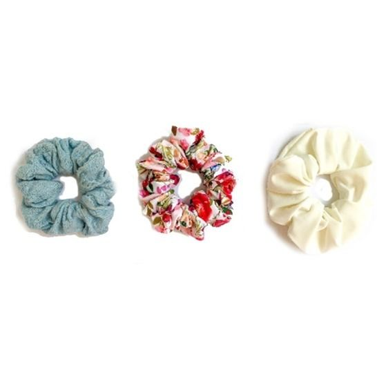 Scrunchie Sewing Pattern PDF including 7 different styles at Makerist - Image 1