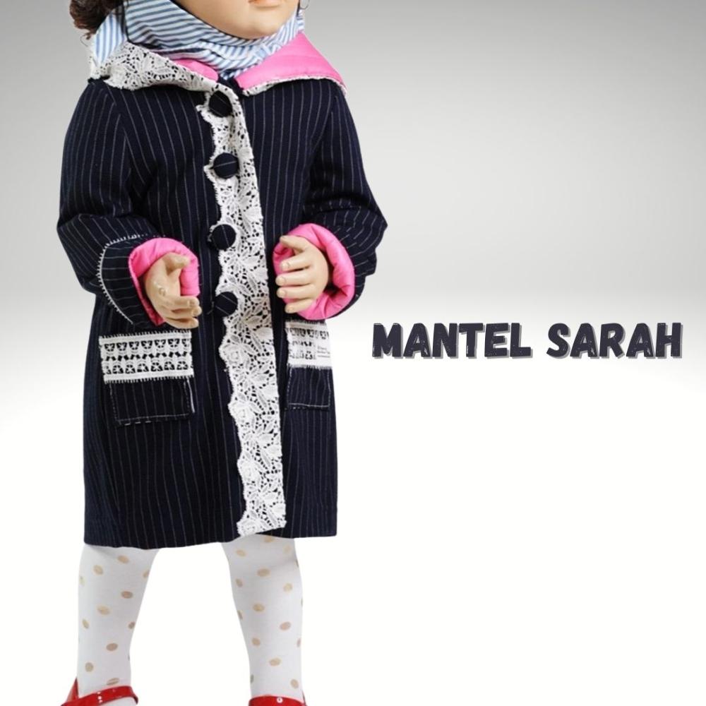 Nähanleitung Kindermantel Sarah