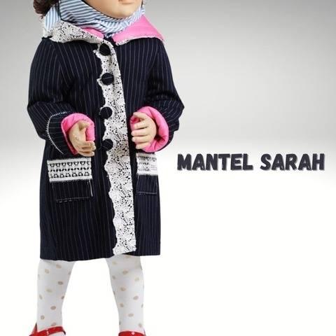 Nähanleitung Kindermantel Sarah bei Makerist