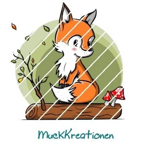 Applikation Fuchs Baumstamm