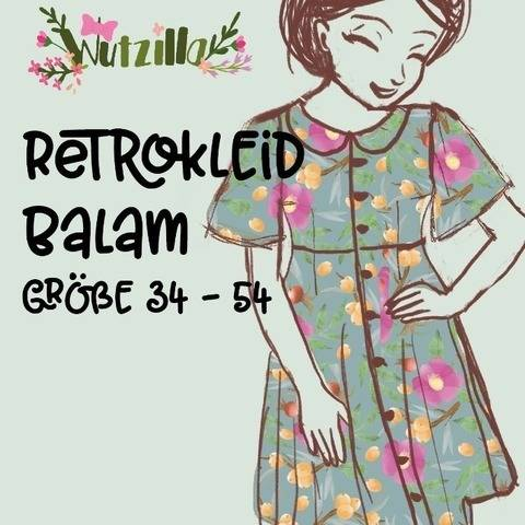 Retrokleid Balam Gr. 34-54
