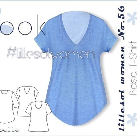 Ebook / Schnittmuster lillesol women No.56 Basic T-Shirt
