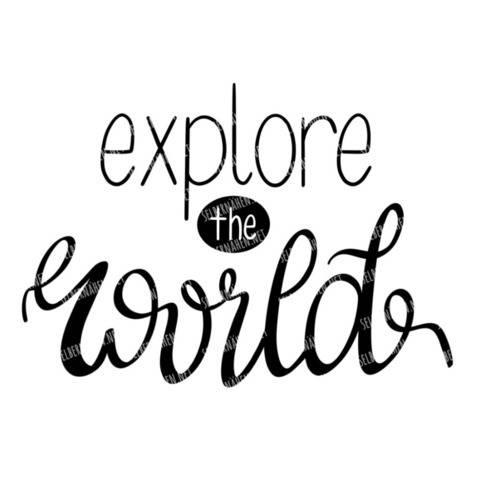 Plottergrafik | explore the world