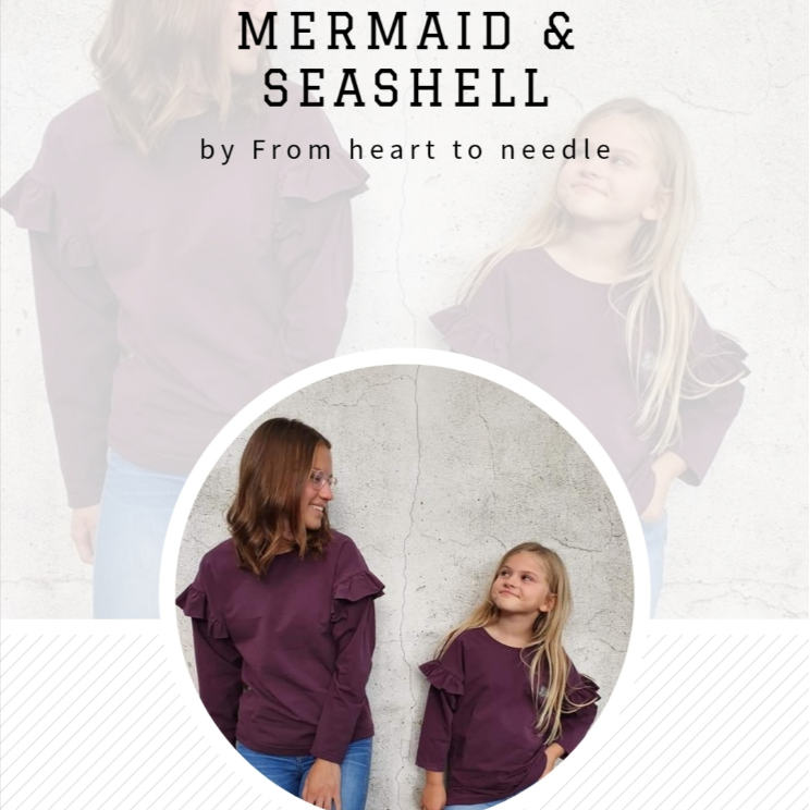Sweater/Sweatdress Mermaid&Seahshell