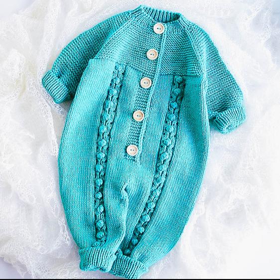 BABY JUMPSUIT Knitting Pattern