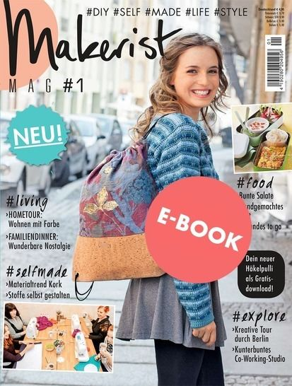 Makerist Mag #1 - Unser erstes Magazin als E-BOOK bei Makerist - Bild 1