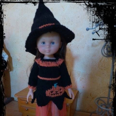tenue Halloween pour cheries corolle