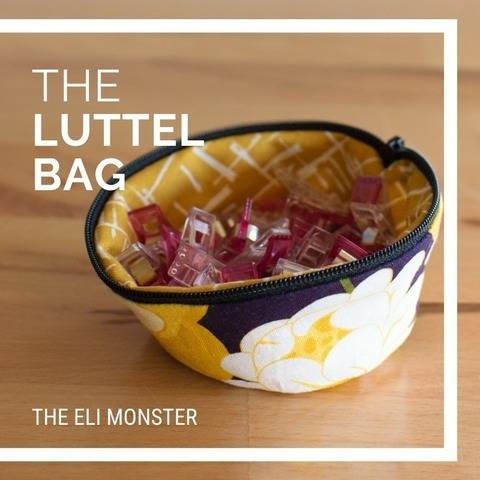 Bag Sewing Pattern, The Luttel Bag