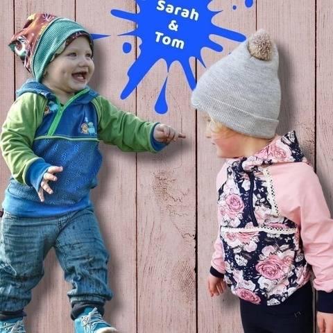"Kinder Kapuzenshirt Hoody ""Sarah"" und ""Tom"" Mini"