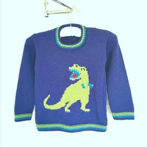 T Rex on a Sweater