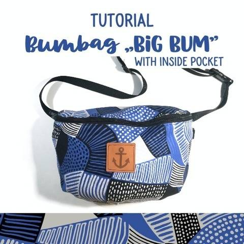 Bumbag BigBum -  sewing pattern and instructions