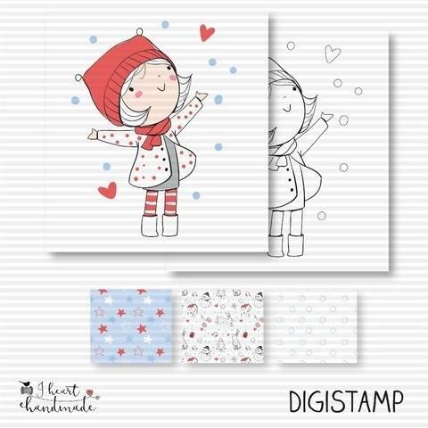 "DigiStamp ""Carla"" (Winterkinder)"