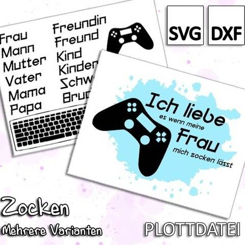 Zocken - Plottdatei