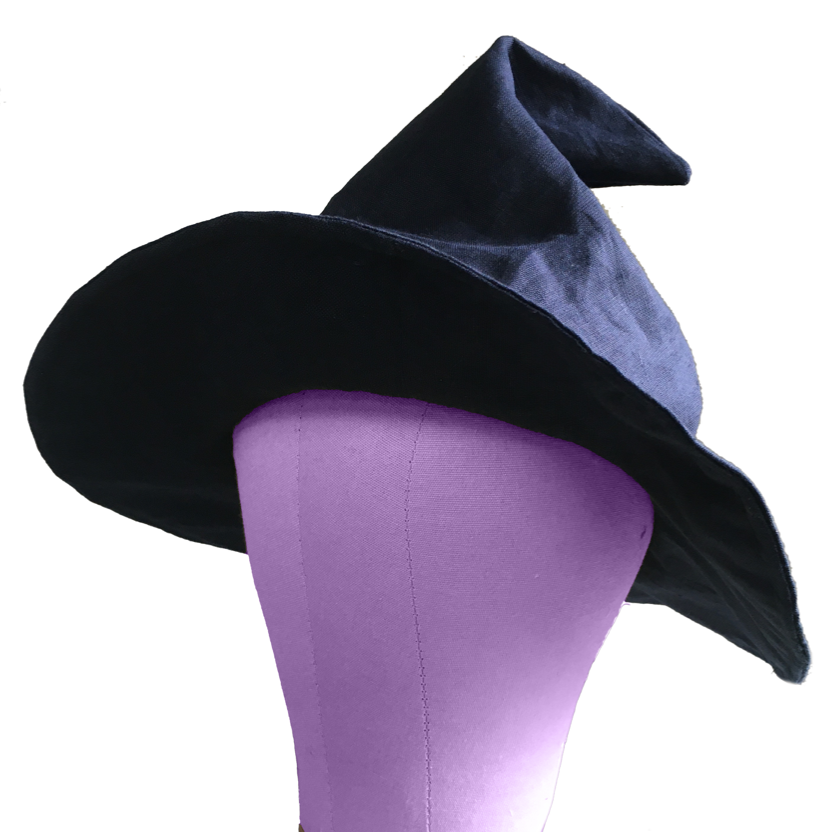 PDF Witch/ Wizard Hat Sewing Pattern - Toddler - Adult