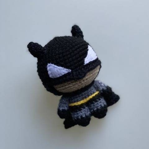 Patron Crochet - Amigurumi Mini Batman