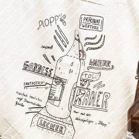 Radler vs. Alsterwasser / Bierflasche