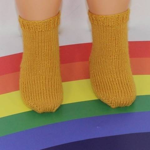 Toddler Simple Socks Circular