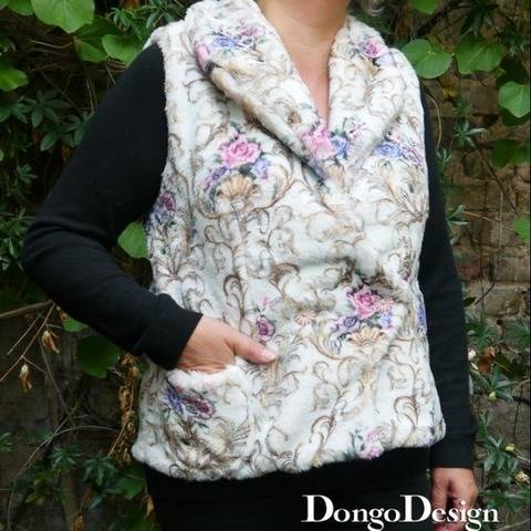 PDF E-Book sewing pattern Svetlana with instructions