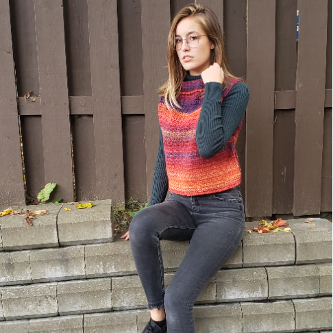 Boxed In - pullover au crochet