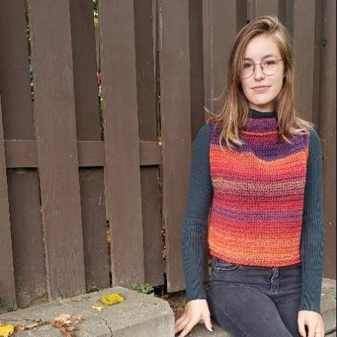 Boxed in - crochet pullover at Makerist