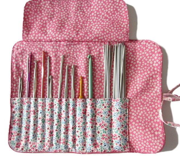 Tutoriel gratuit de la trousse pour ranger vos crochets chez Makerist - Image 1