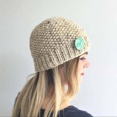 Pebbles Beanie - 2yrs to L.Adult - Easy